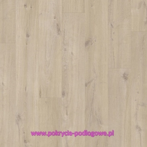 Panel Winylowy LVT QUICK STEP PULSE CLICK Dąb Bawełniany Beżowy PUCL40103