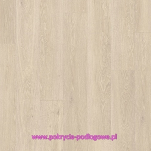 Panel Winylowy LVT QUICK STEP PULSE CLICK Dąb Morska Bryza Beżowy PUCL40080